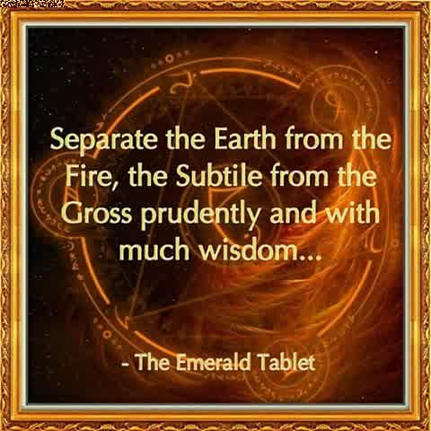emerald tablet quote