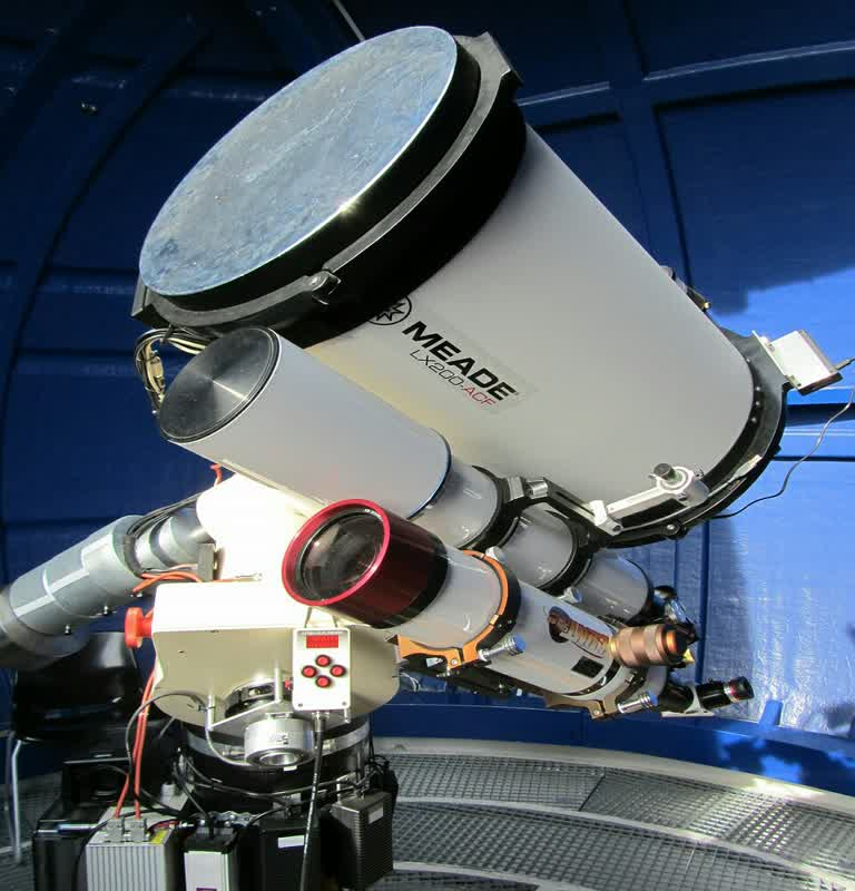 telescope and physical observation
