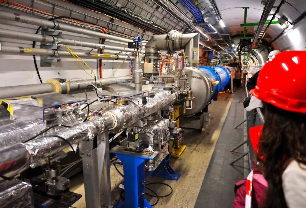 The world's largest collider